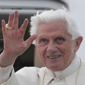 Head Pedophile Pimp of the Unholy Roman Catholic Church of Pedophile Pimps and Priests His Unholiness Papal Bullshitter, Pope Benedict XVI