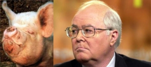 Now tell me, could this be Pig Face Bill Donohue of the Catholic Leagues father or mother?