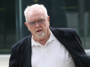 Rev. William Hodgson Marshall makes his way to the Superior Court building in Windsor, Ont. in this June 2011 file photo. (Dan Janisse / The Windsor Star)