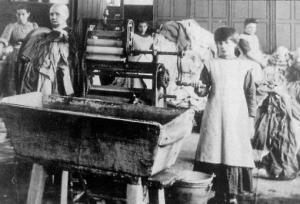 Inside a Magdalene Laundry. Photograph: Wikimedia/Magnus Manske