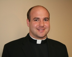 This picture of the Rev. Matthew Riedlinger had been posted on the public website of The Monitor, a publication of the Diocese of Trenton. The diocese has since removed it.