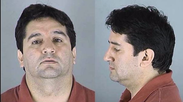 "Father Francisco ""Fredy"" Montero's mugshot. Credit: Courtesy of Global Post"