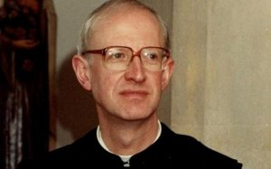 Father Lawrence Soper has been arrested on suspicion of nine counts of historic sexual assaults CREDIT: MET POLICE